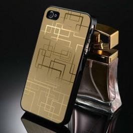 iPhone 4 aluminium case gold
