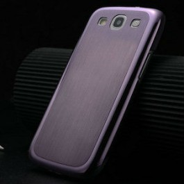 Samsung Galaxy S3 aluminium case purple