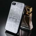 iPhone 4 aluminium case silver