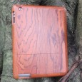 iPad 3 or 4 wooden case cherry wood